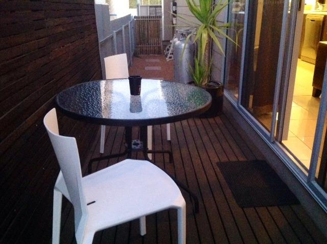 Outdoor Terrace decking for those relaxing evening drinks