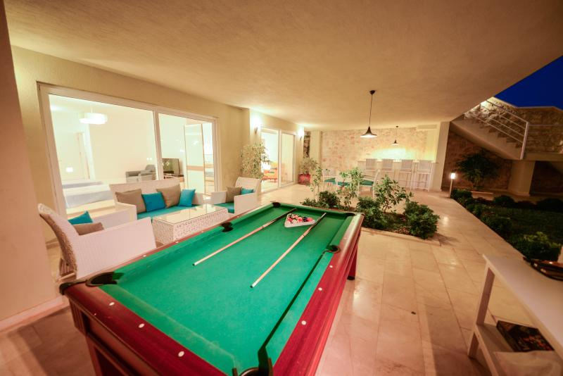 pool on the garden level