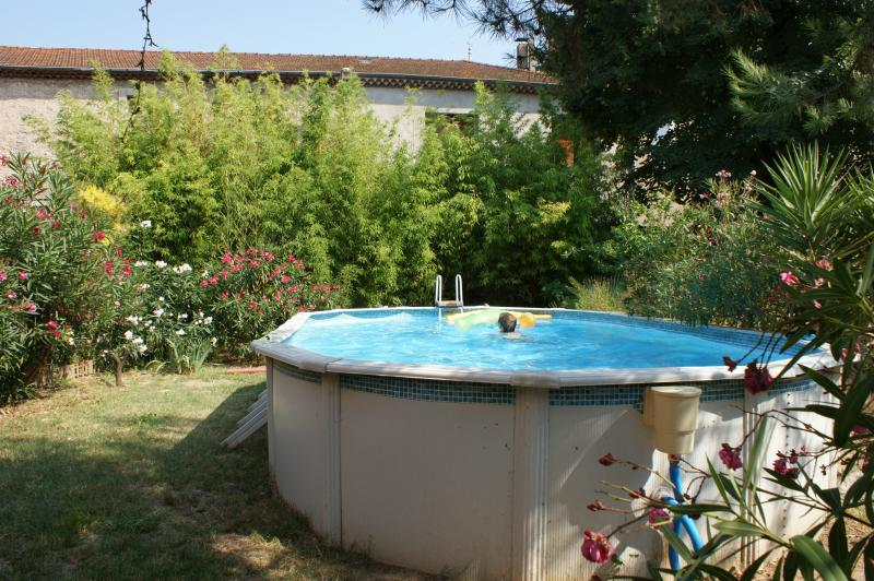 large swimming pool above ground 7 x3.5