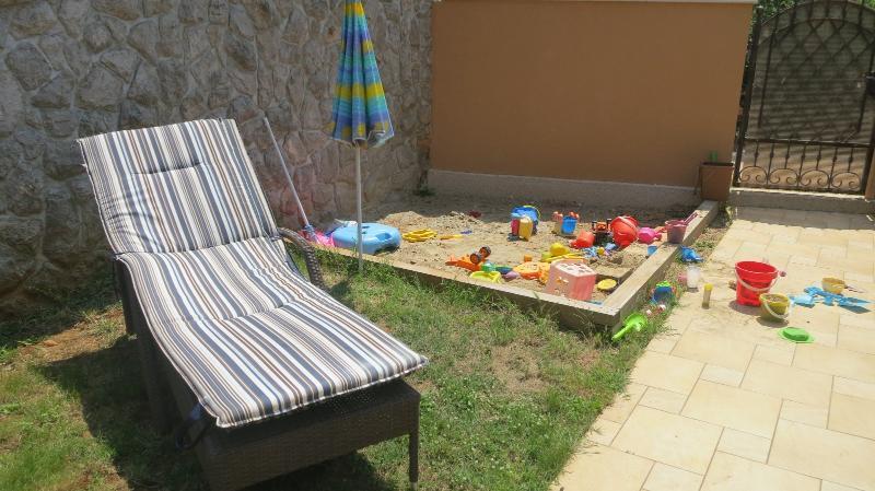 Sun decks / Playground for children