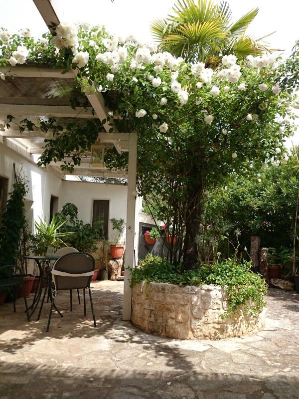 Trullo Casa Rosa-private garden