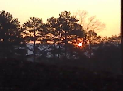 Enjoy sunsets and sunrises