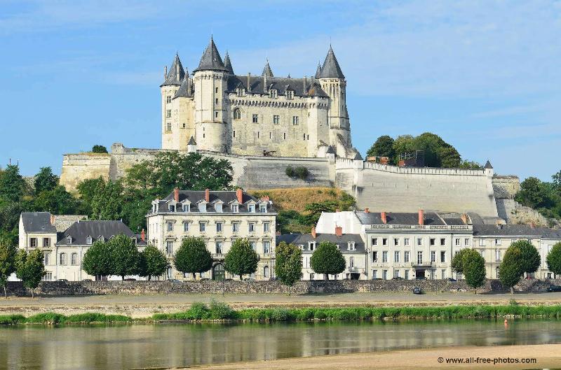 château de Saumur à 35 minutes