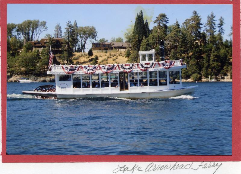 Arrowhead Queen Paddleboat