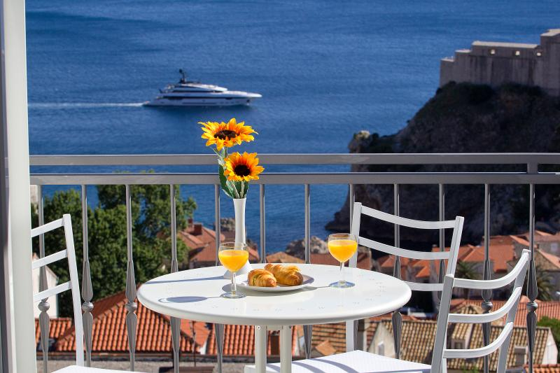 Start your day overlooking Old Town Dubrovnik & Adriatic sea