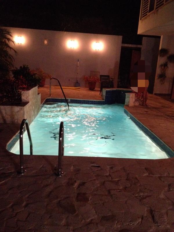 always a goodnight for a night swim