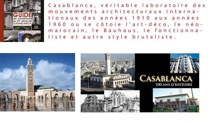 Guide du patrimoine Casablancais disponible / Architectural Heritage guide of Casablanca available
