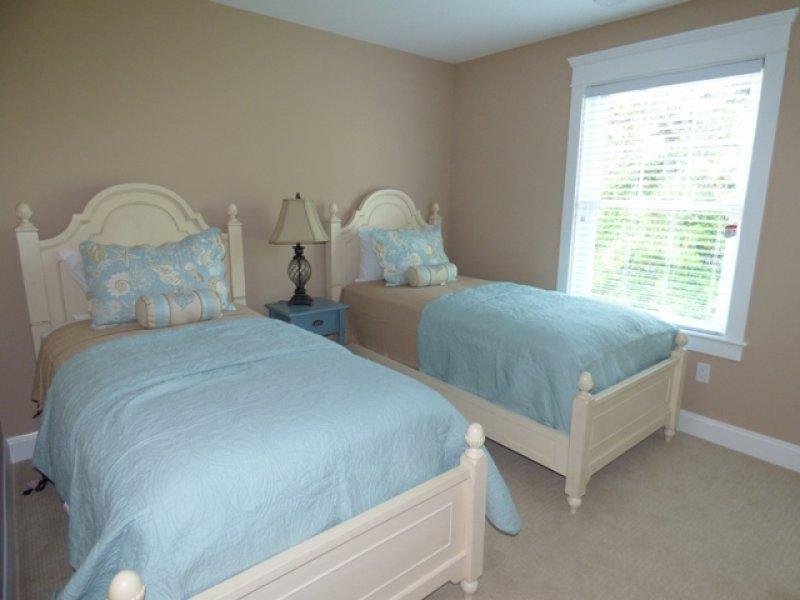 1 dormitorio, 2 camas gemelas