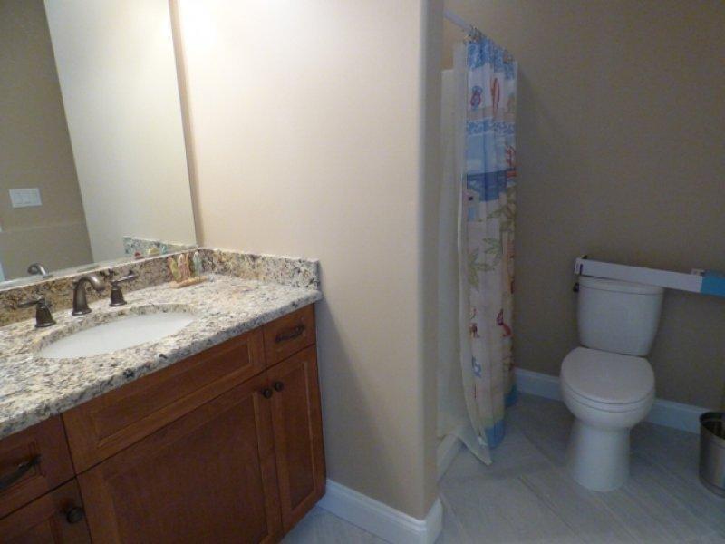 baño 3 en 1 º piso / sala de cabana