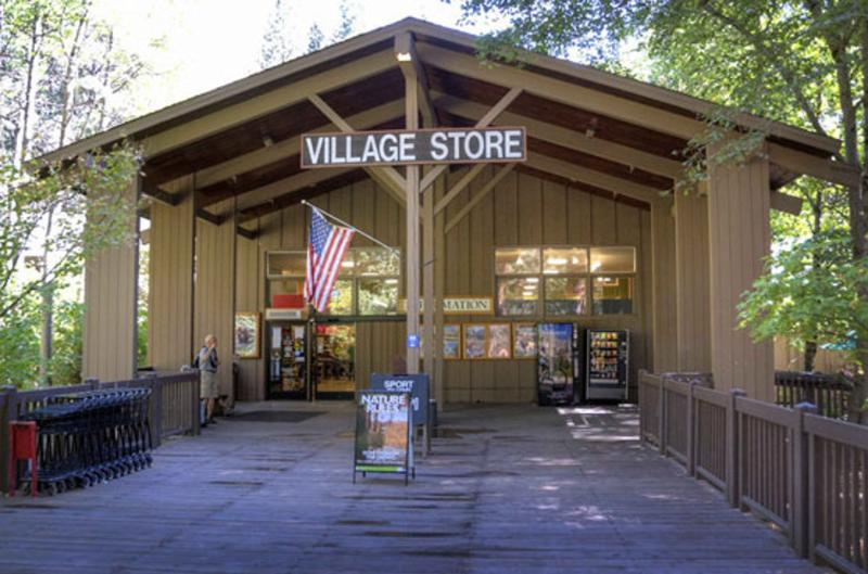 The grocery store in Yosemite Village.