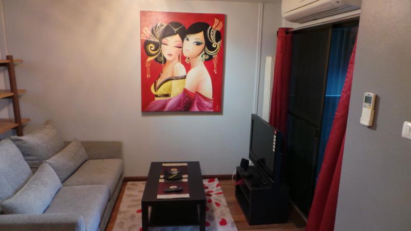 Studio neuf a  Sukhumvit au centre de Bangkok – semesterbostad i Bang Nam Phueng