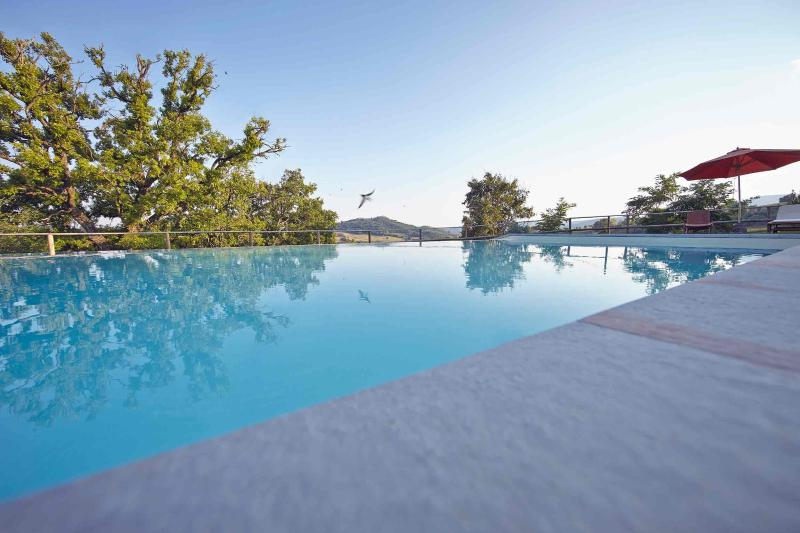 Medieval Stone Villa: view, pool, bbq, wifi, ensuite bedrooms with a/c., alquiler vacacional en Perugia