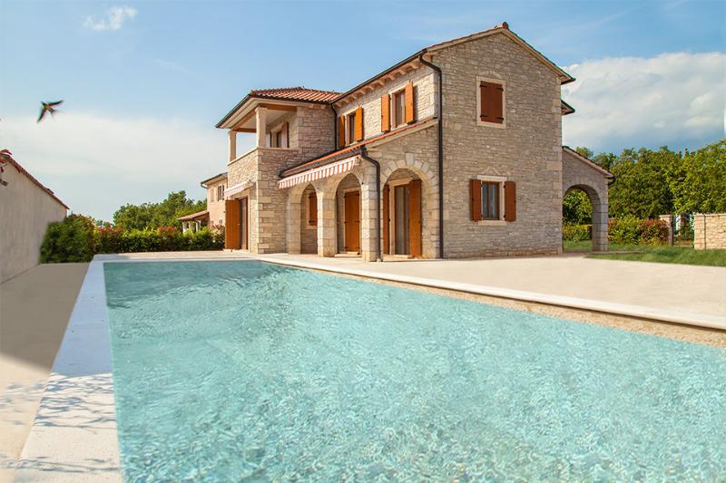 Villa Begonia, private with large swimming pool, Ferienwohnung in Visnjan