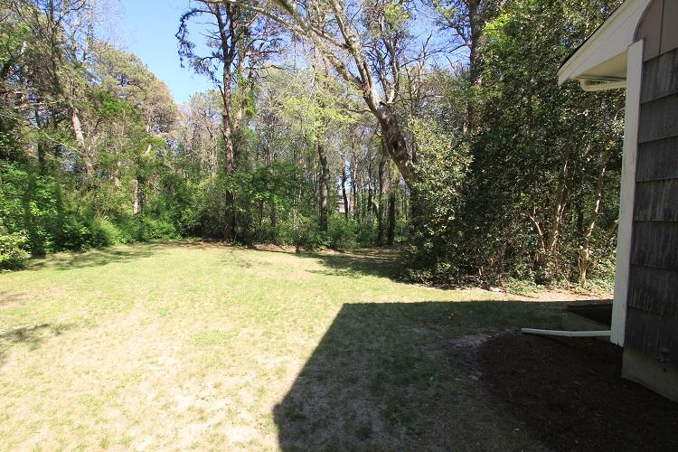 Good Sized Back Yard