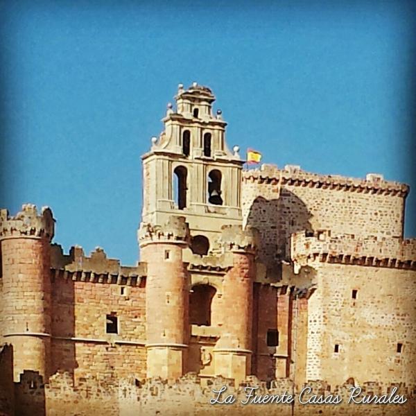 Castillo de Turégano a 9 km del Cubillo. Invierno
