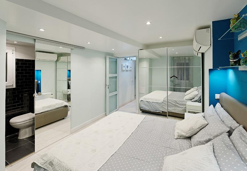 Master bedroom with it's own WC