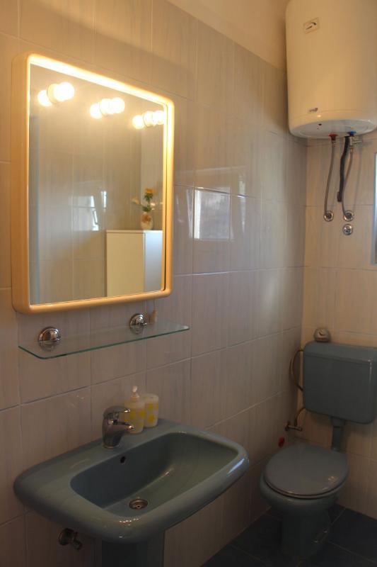 A1 gornji (4 + 1): salle de bain avec toilette