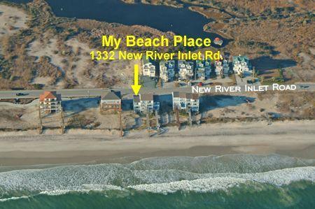 Vista aerea del mio posto spiaggia