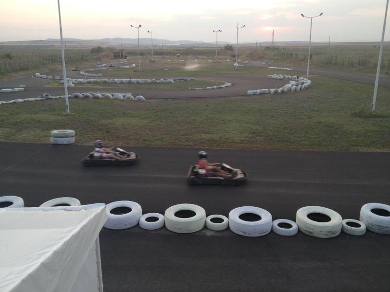 Go karting track nearby