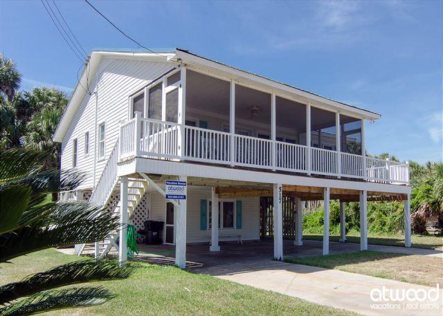 Sand In My Shoes - Ocean Views, Sleeps 10, holiday rental in Edisto Island