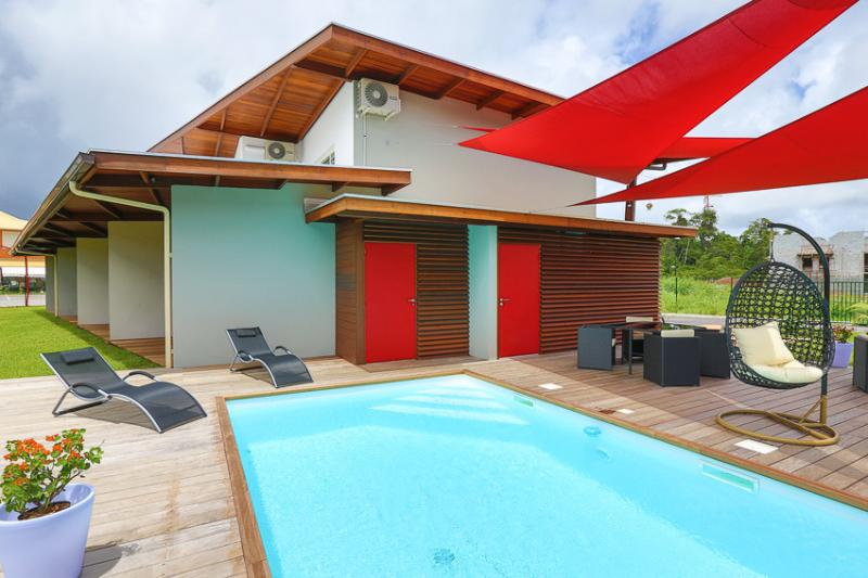 RESIDENCE HIBISCUS 5 Etoiles DUPLEX T2 (mauve), holiday rental in French Guiana