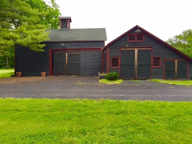 1868 barn and guest parking