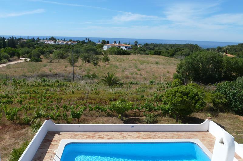 Une grande piscine avec vue mer 180 degrés