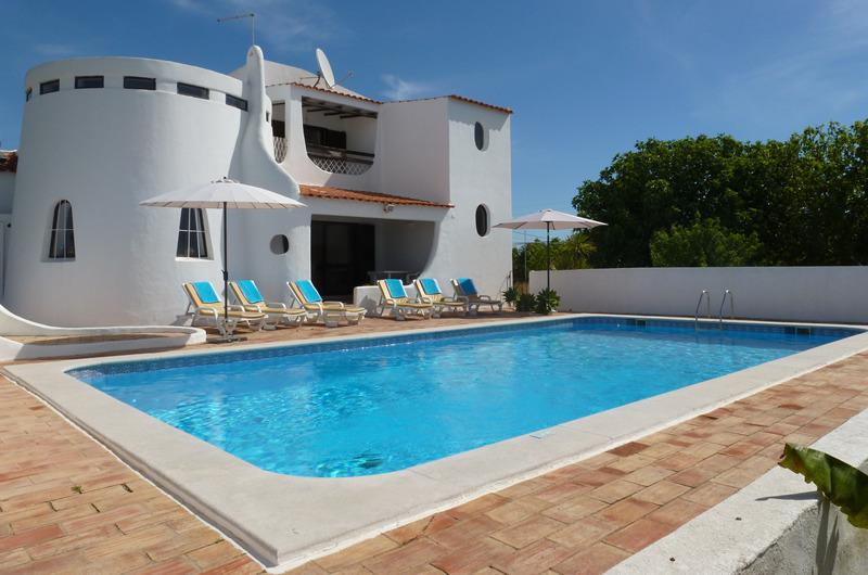 A 4 bedroom villa on the outskirts of Carvoeiro