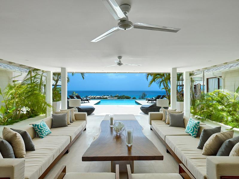Luxury 6 bedroom villa on West coast of Barbados, holiday rental in Six Mens