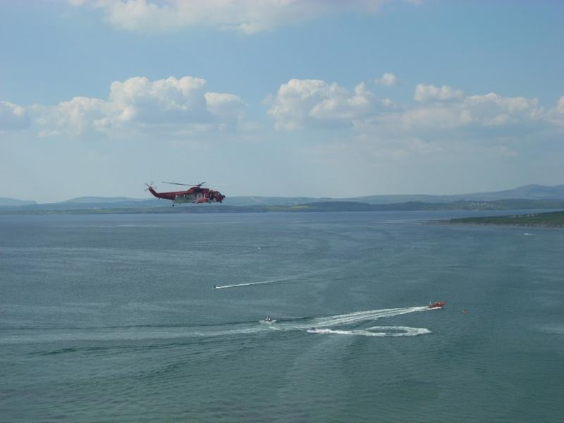 Air Sea Rescue exercise over Rossnowlagh Bay