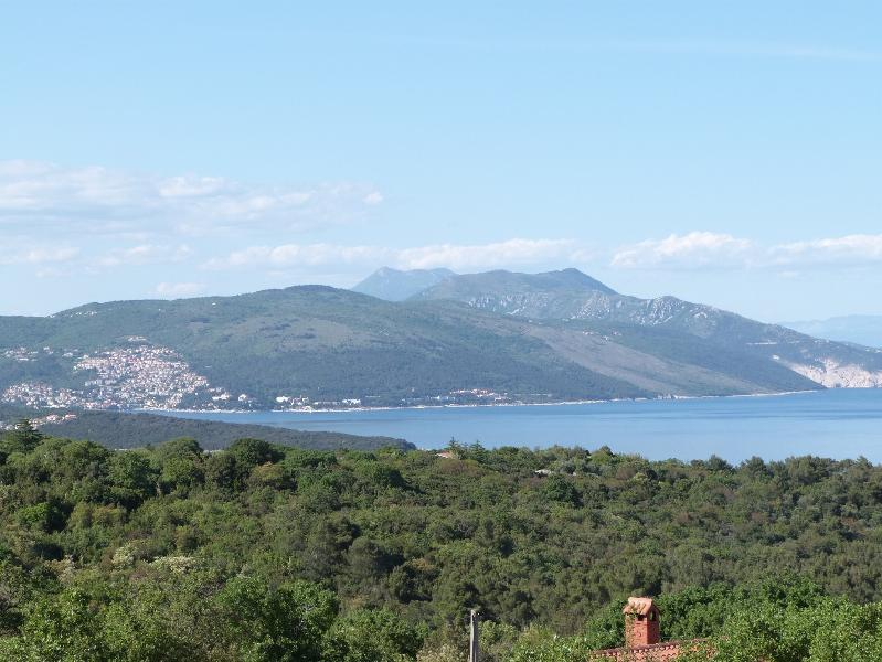 view from the house of Rabac, Ucka