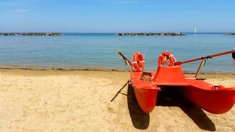 How lovely the sea of San Benedetto del Tronto