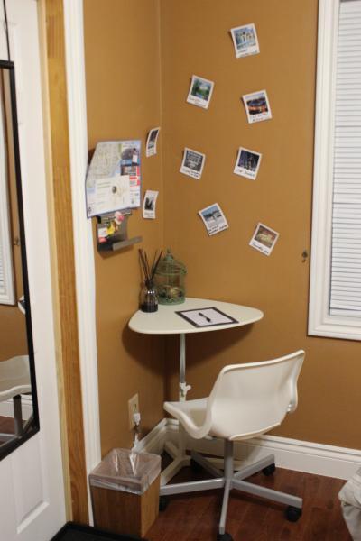 Desk &Chair in bedroom