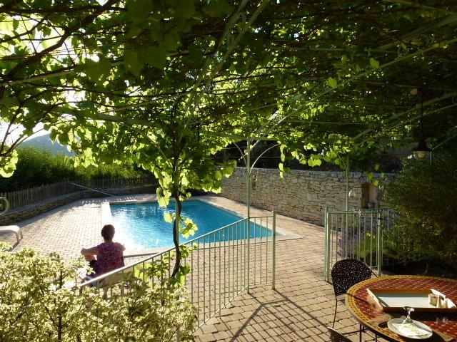 Heated pool, exceptional and magnificent view., holiday rental in La Roque Alric