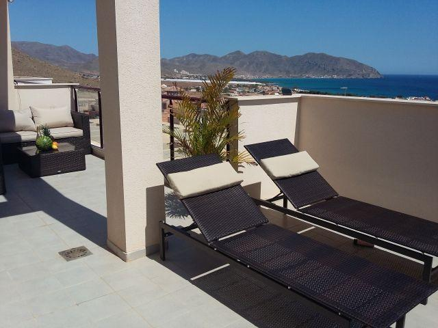Mojon Hills Apartment, Stunning Views, Wi-Fi, holiday rental in Isla Plana