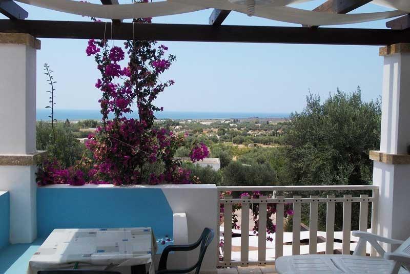 Bella Casa mare con panorama stupendo a Pescoluse – semesterbostad i Pescoluse
