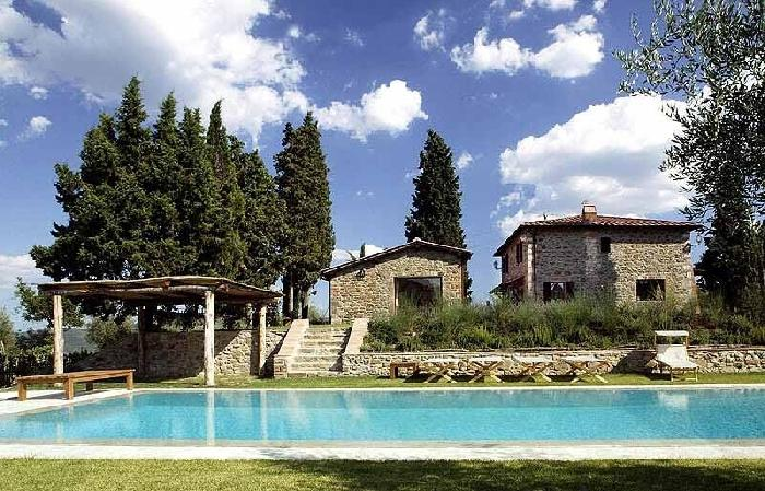 Villa Alhambra Luxury villa near Siena - Tuscany - Holiday villa to rent near Si, holiday rental in Mercatale Valdarno