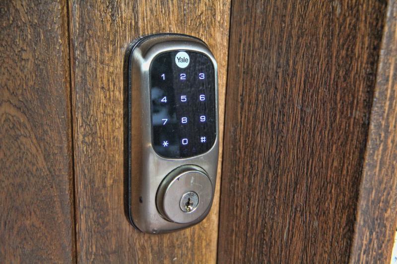 Digital Door Codes. No more lost keys.