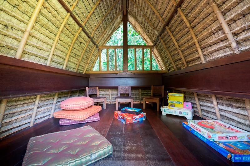 Inside Kid's Lumbung at Villa Frangipani