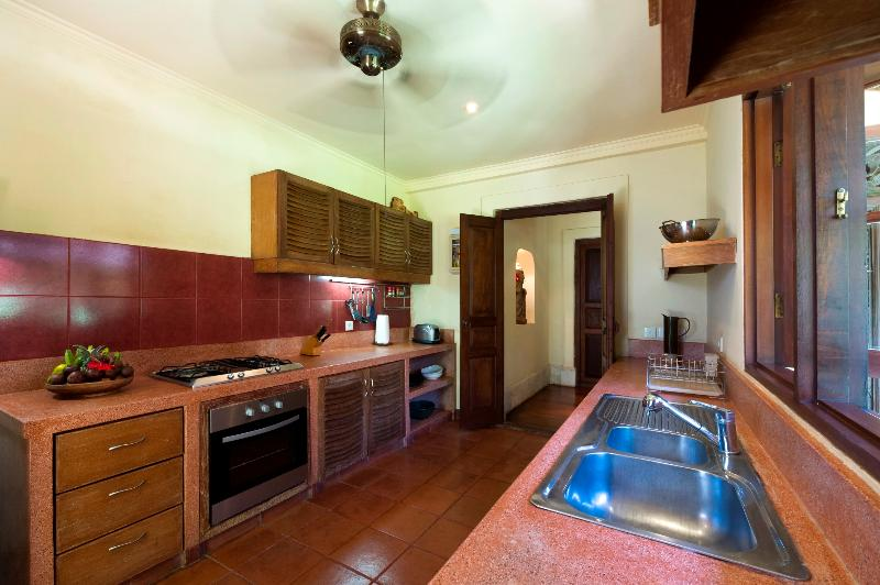 Kitchen at Villa Frangipani
