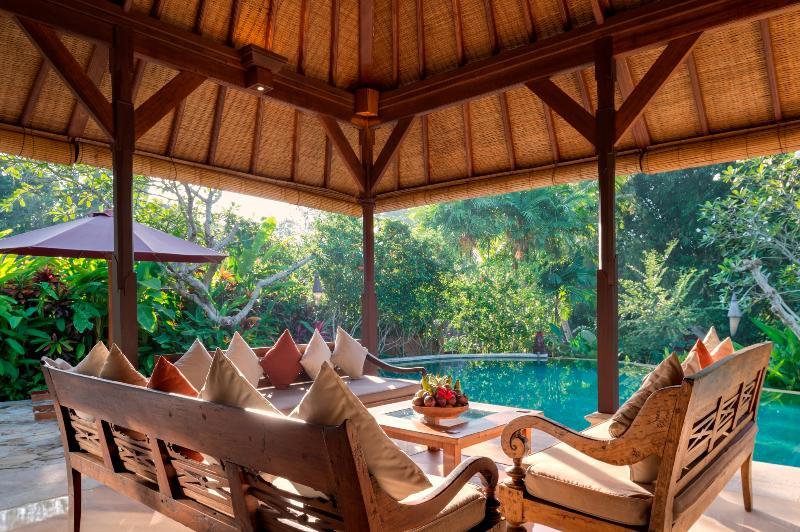Morning in Outdoor Living Area, Villa Frangipani