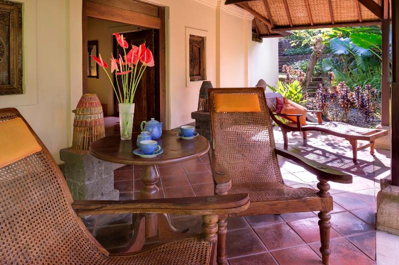 Garden Suite Terrace at Villa Frangipani