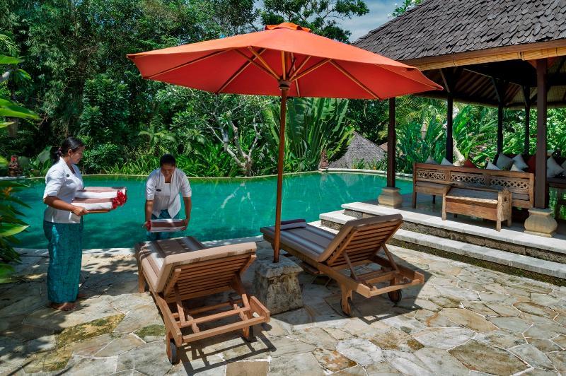 Service with a smile at Villa Frangipani, Canggu, Bali