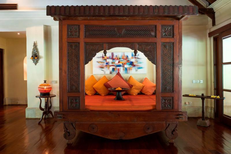 Villa frangipanier salon intérieur