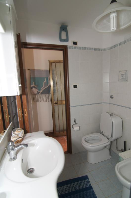 Cuarto de baño con vistas de ducha 4