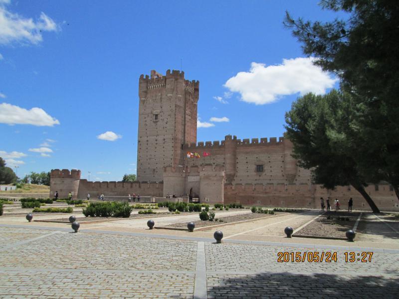 Schloß von Mota (Medina del Campo)