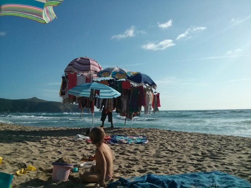 Beach 10 min