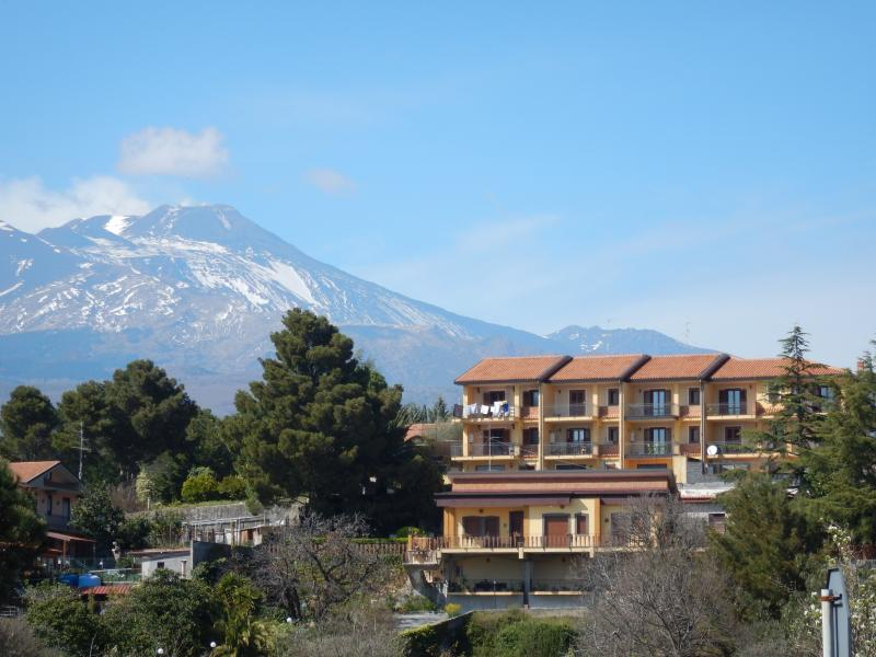 ELEVATION WITH VIEWS OF MOUNT ETNA