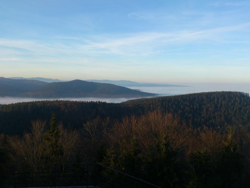 Prise de vue réalisée depuis le Mont Sainte Odile