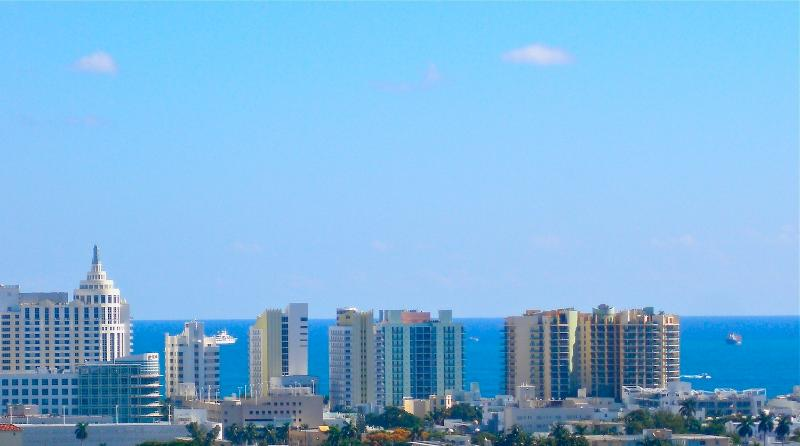 Beautiful View of Famous Buildings, on Collins Ave. ONLY 1 Block from MY CONDO!!!!!
